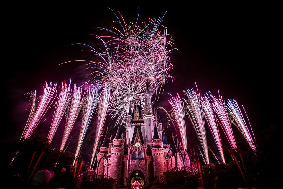 Disney World Tips & Secrets - Advice for watching the Wishes Fireworks in the Magic Kingdom at the Walt Disney World Resort in Florida.
