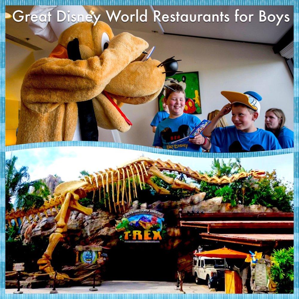 Boy Friendly Disney Restaurants Build A Better Mouse Trip