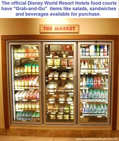 Where can you buy milk at Disney World? You can buy pints of milk from the Grab & Go Section of your Disney World Resort Food Court.