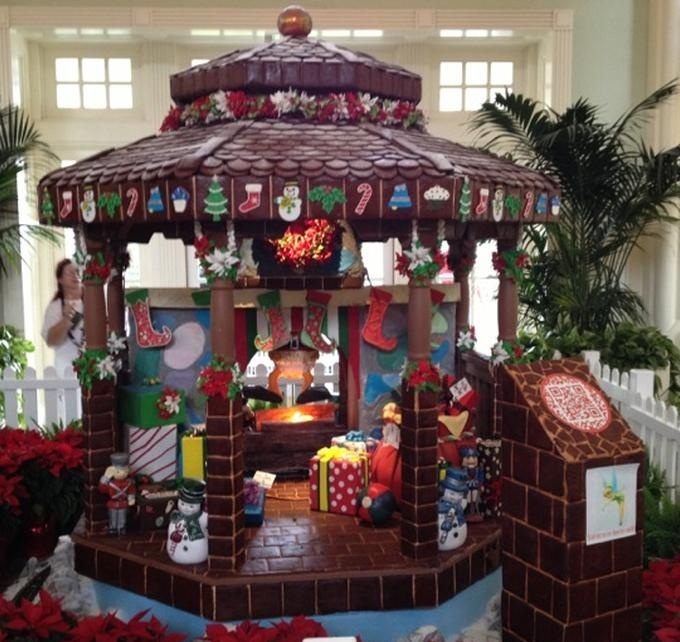 Gingerbread Carousel at Disney's Beach Club Resort