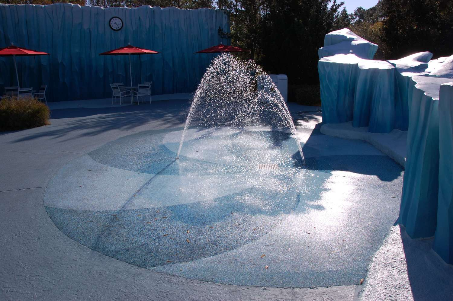 Water play area  at Disney's All-Star Movies Resort
