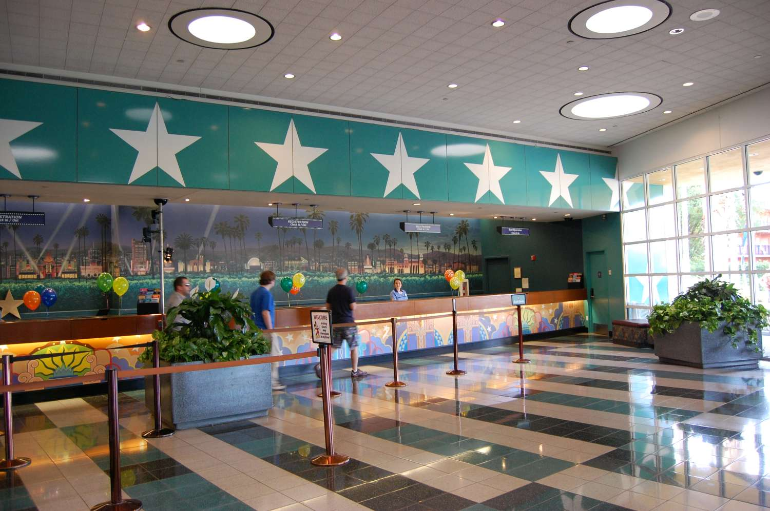 Front desk at Disney's All-Star Movies Resort