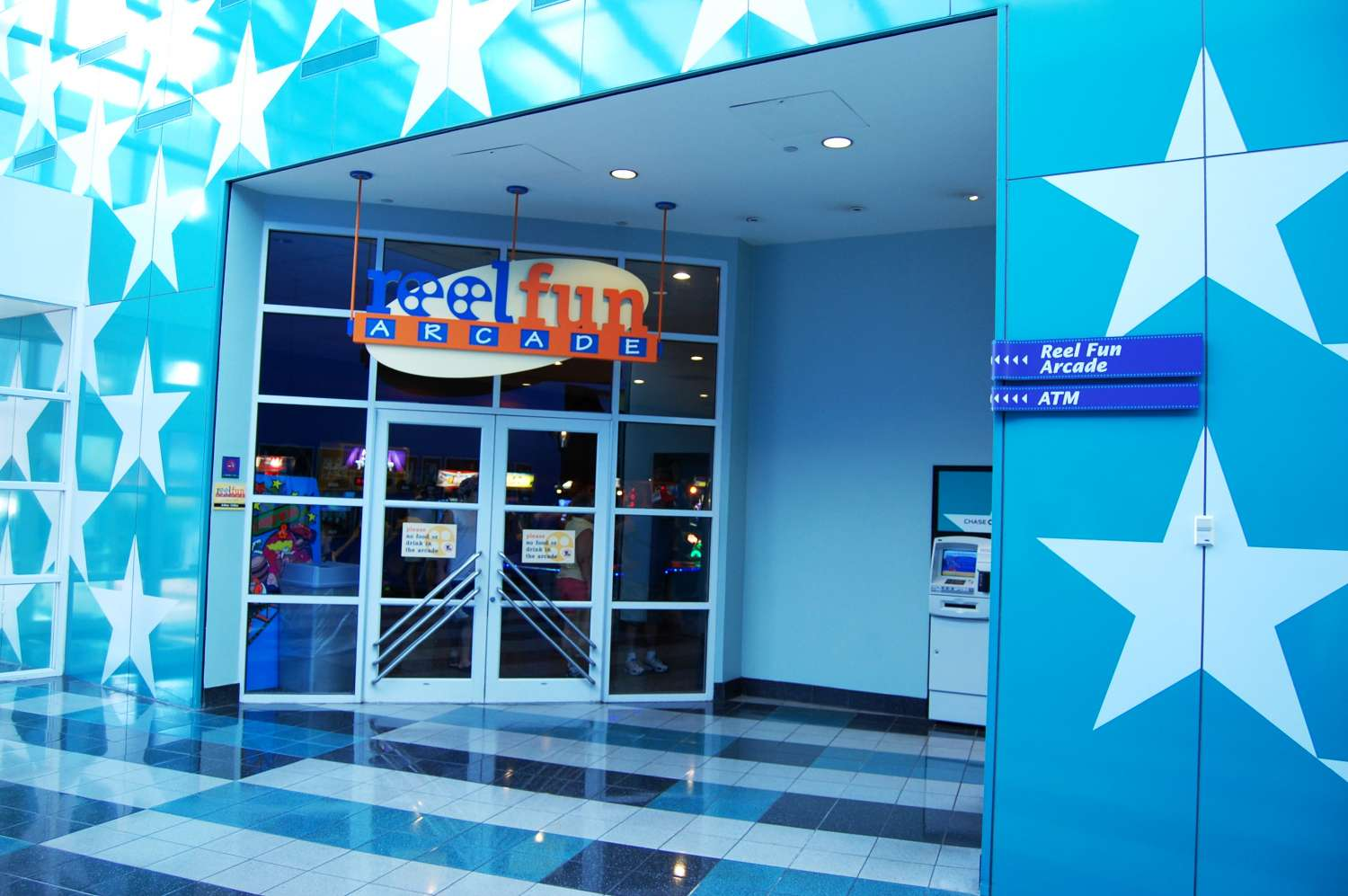 Reel Fun Arcade in Cinema Hall at Disney's All-Star Movies Resort