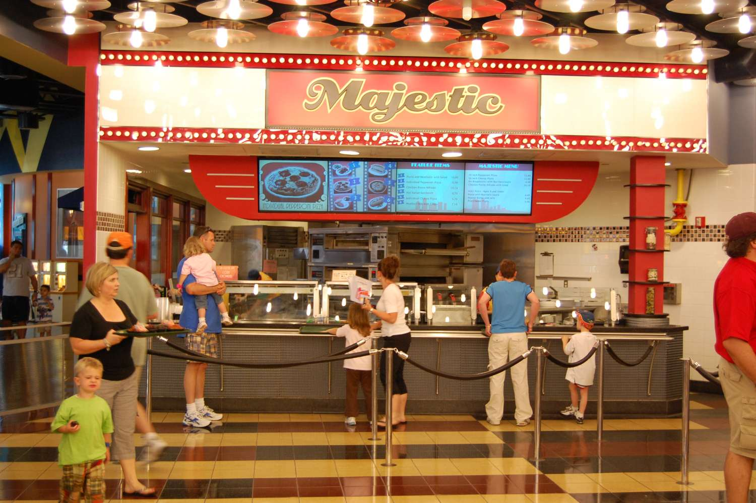 Majestic food station at Disney's All-Star Movies Resort