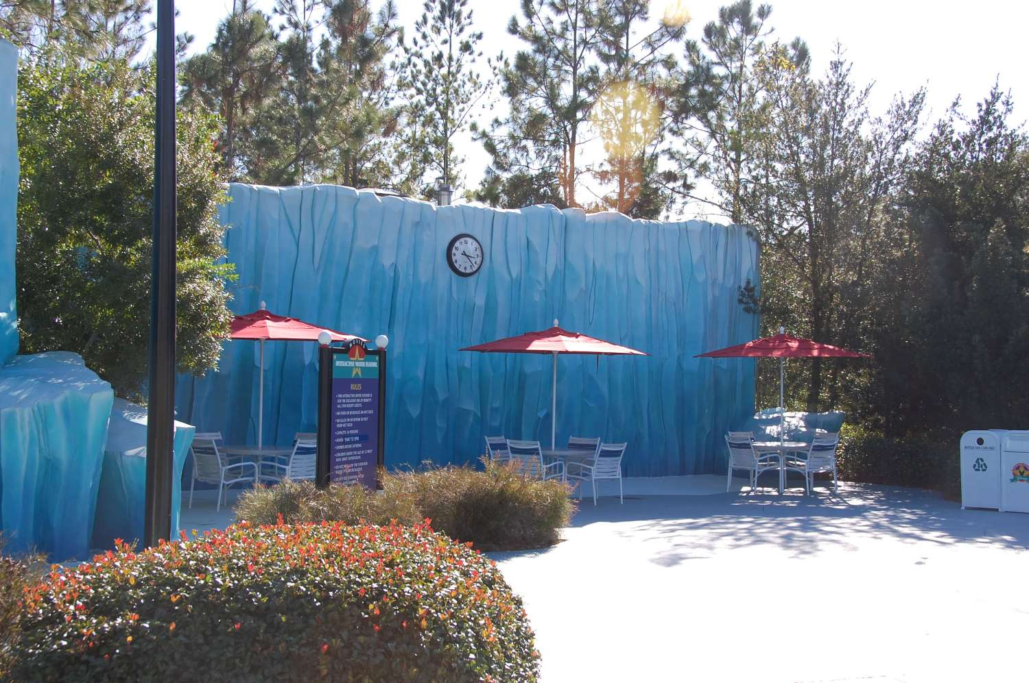Bath house and laundry fascilities at Disney's All-Star Movies Resort
