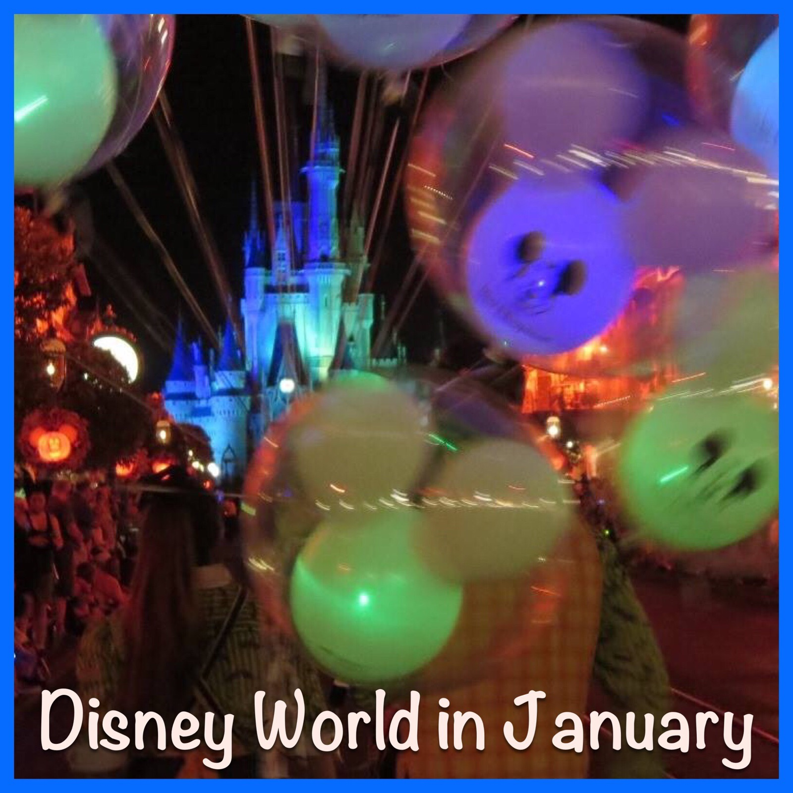Important Information for Your January Trip to Disney World - Weather, special events, closures and refurbishments and more.