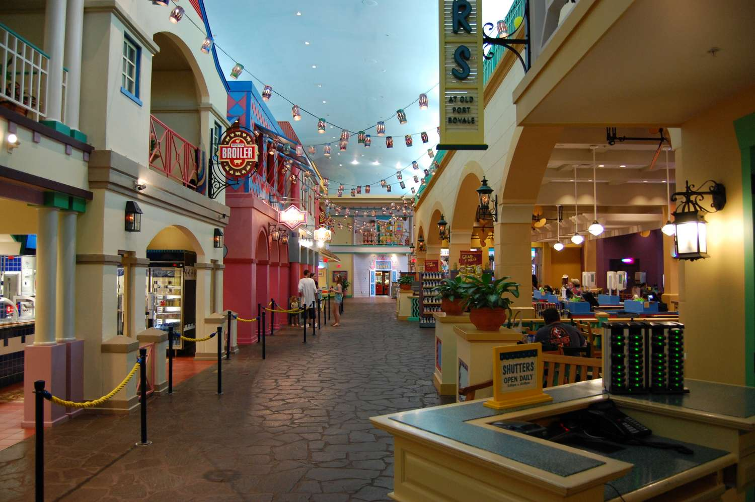 Disney's-Caribbean-Beach-Resort-Shutters-Looking-towards-shops.jpg