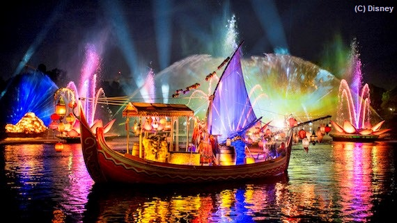 Rivers of Light, a nighttime spectacular at Disney's Animal Kingdom park / Walt Disney World Resort - Florida.