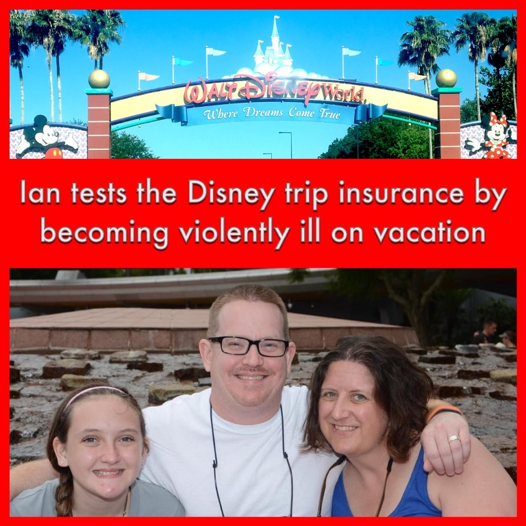 Disney World Vacation Insurance - Ian shares his experience with the Disney World trip insurance when he got sick on vacation and needed to go to the emergency room.