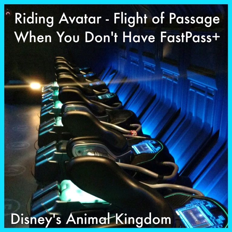 Disney World Tips & Secrets - How to ride Avatar - Flight of Passage at Disney's Animal Kingdom without spending hours in line, even if you don't have FastPass+
