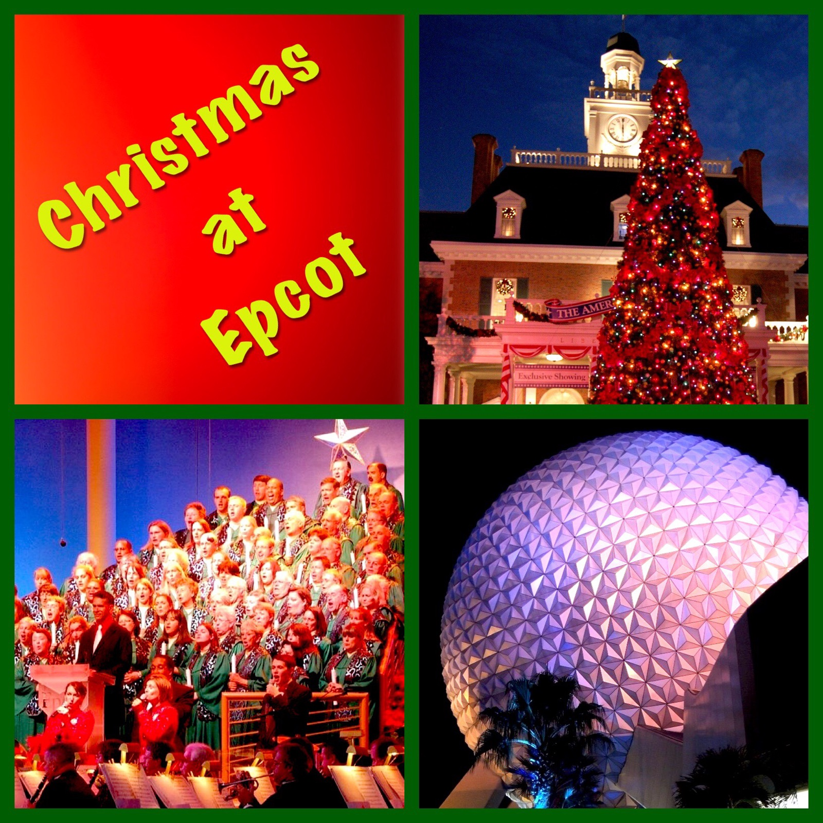 Epcot at Christmas - Tips for a holiday experience that is practically perfect in every way!