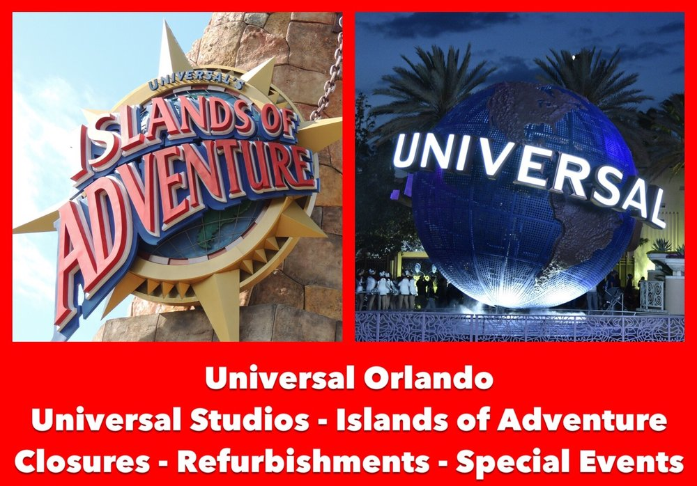 Universal Orlando Ride Closures And Refurbishments Build A Better Mouse Trip