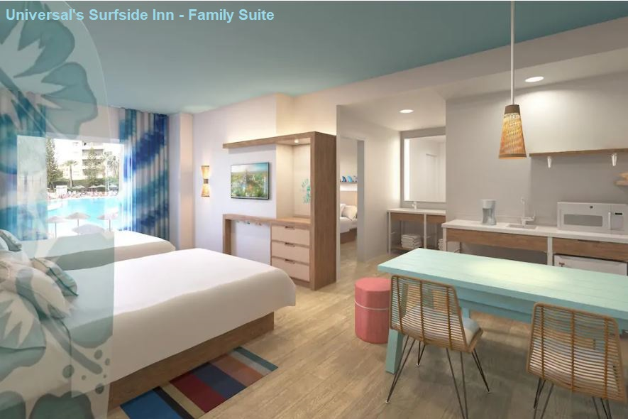 Universal's Endless Summer Resort - Surfside Family Suite / Universal Orlando