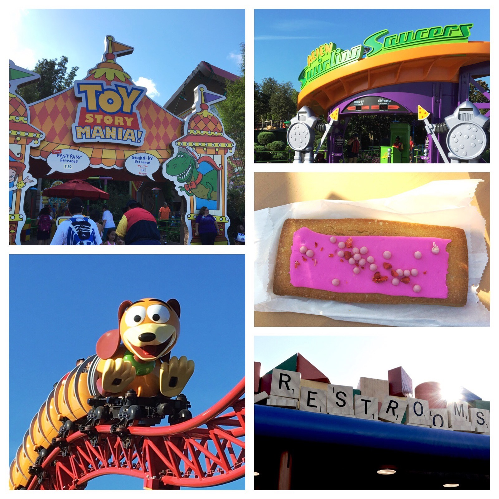 Toy Story Land Tips for avoiding long lines on Slinky Dog Dash, Alien Swirling Saucers and Toy Story Mania! / Disney World
