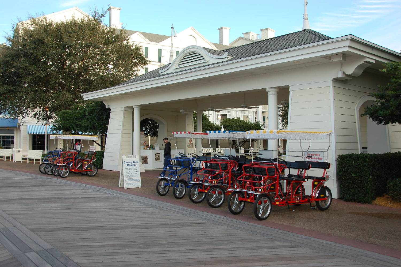 Disney's-Boardwalk-Inn-Surrey-Bike-Rental.JPG