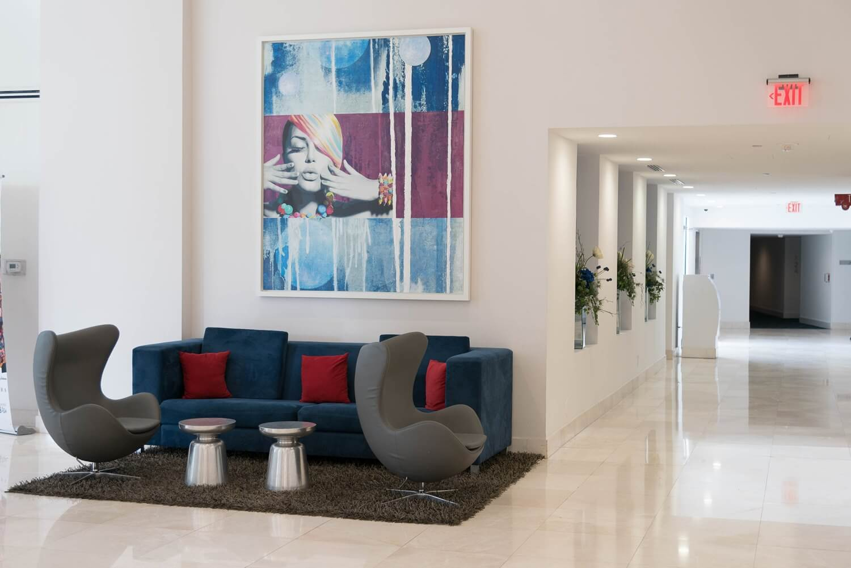 B Resort and Spa Lobby Seating