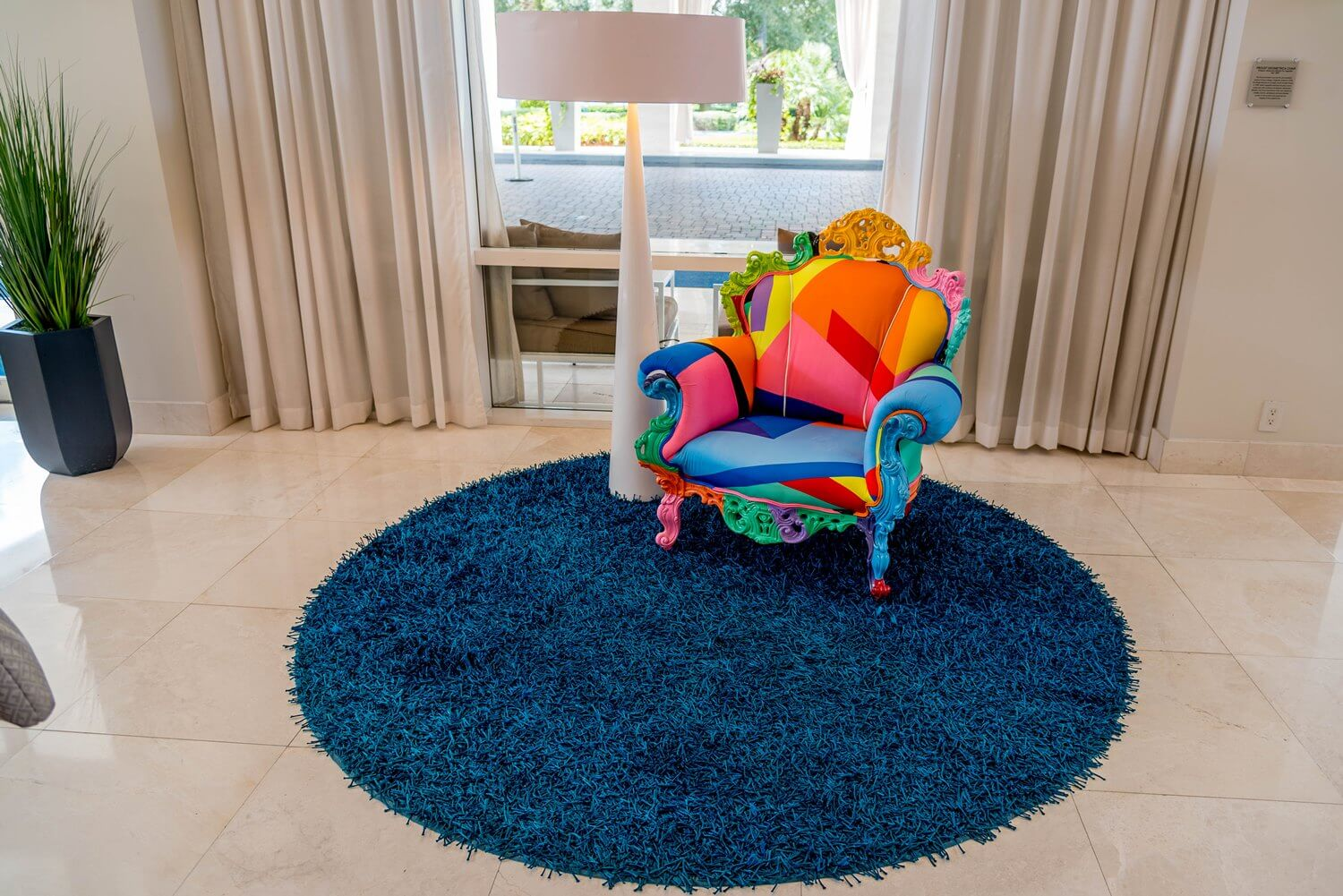 Splashes of Color at B Resort and Spa