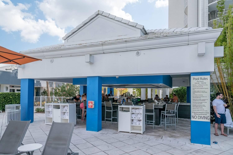 Pool Bar at B Resort and Spa