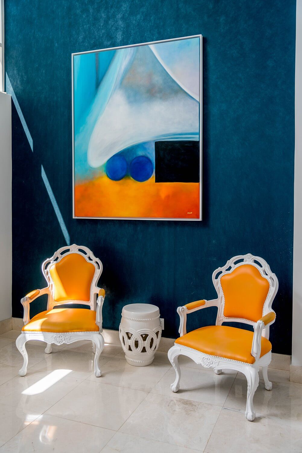 Splashes of Color - B Resort and Spa