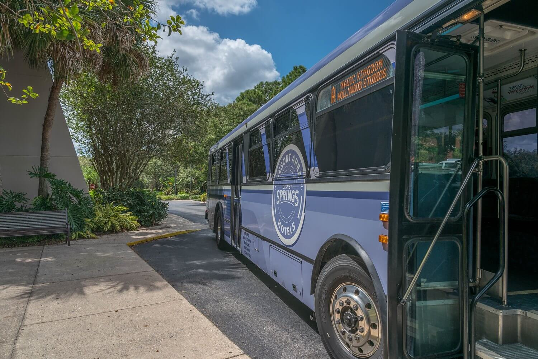 Disney Bus at DoubleTree Suites / Disney Springs Resort Area