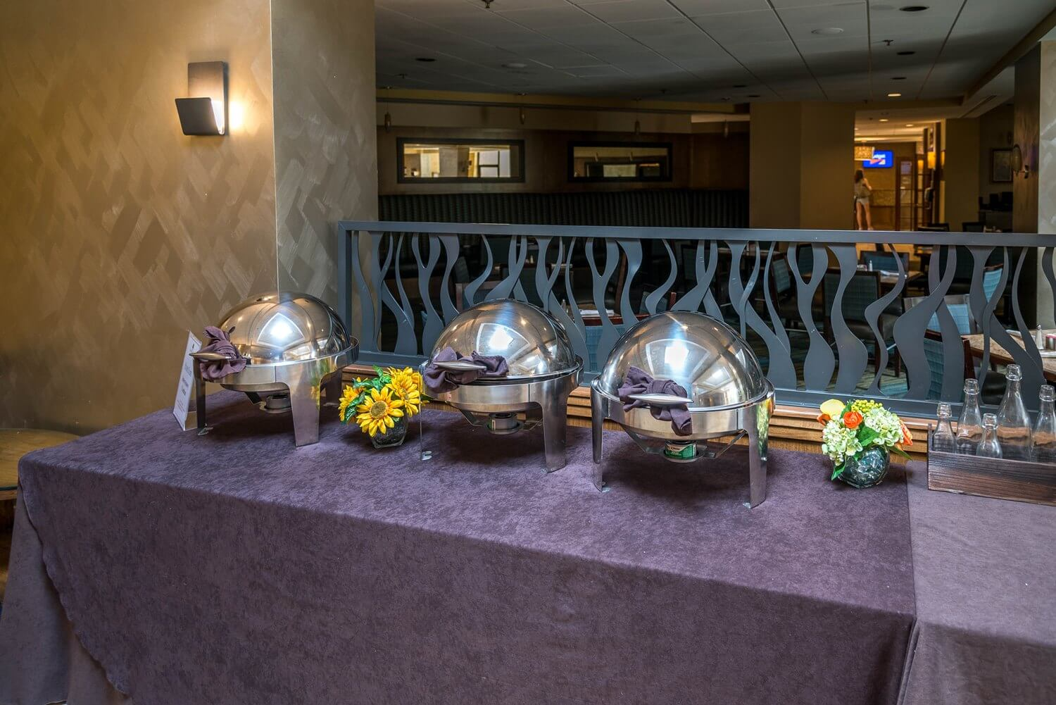 Buffet area at DoubleTree Suites by Hilton Orlando - Disney Springs Resort Area