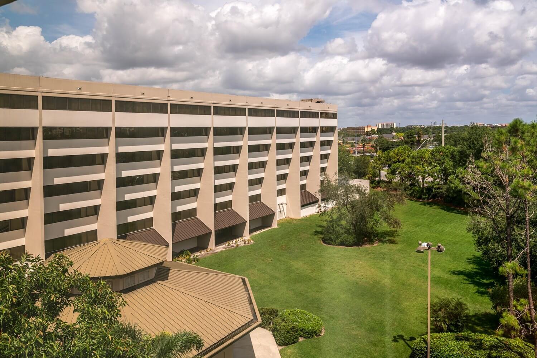 Exterior view of DoubleTree Suites by Hilton Orlando - Disney Springs Resort Area