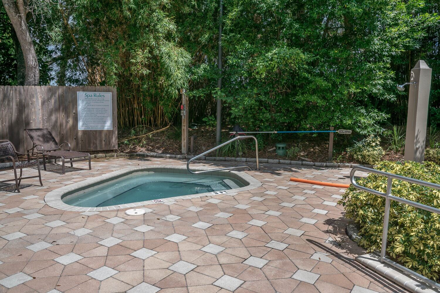 Whirlpool spa at DoubleTree Suites by Hilton Orlando - Disney Springs Resort Area