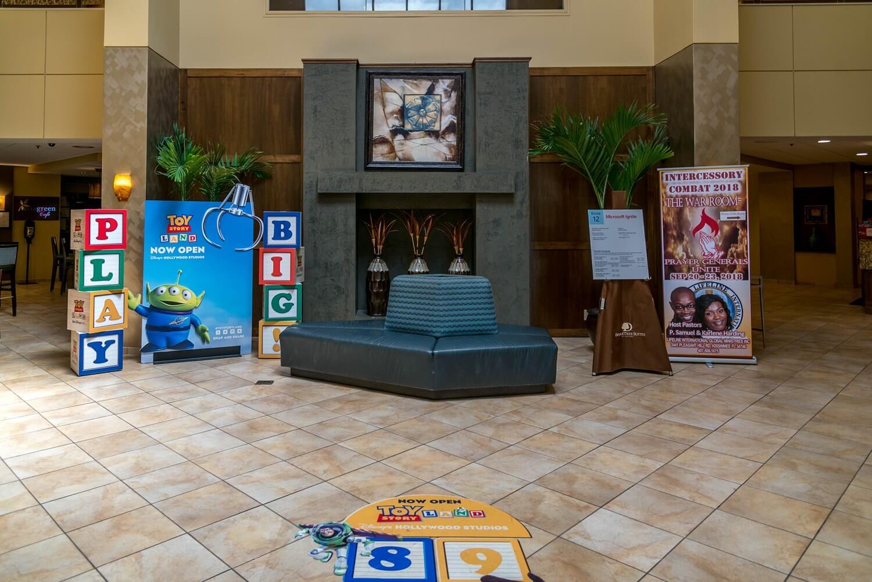 Lobby area at DoubleTree Suites by Hilton Orlando - Disney Springs Resort Area