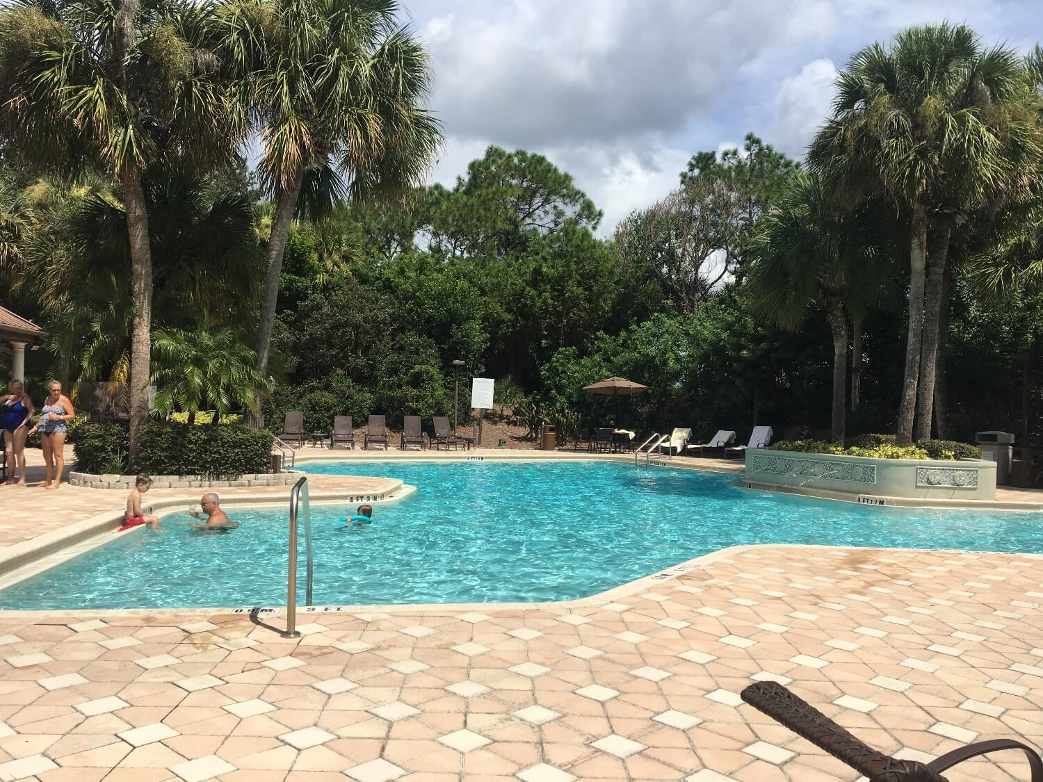 Swimming pool at DoubleTree Suites by Hilton Orlando - Disney Springs Resort Area