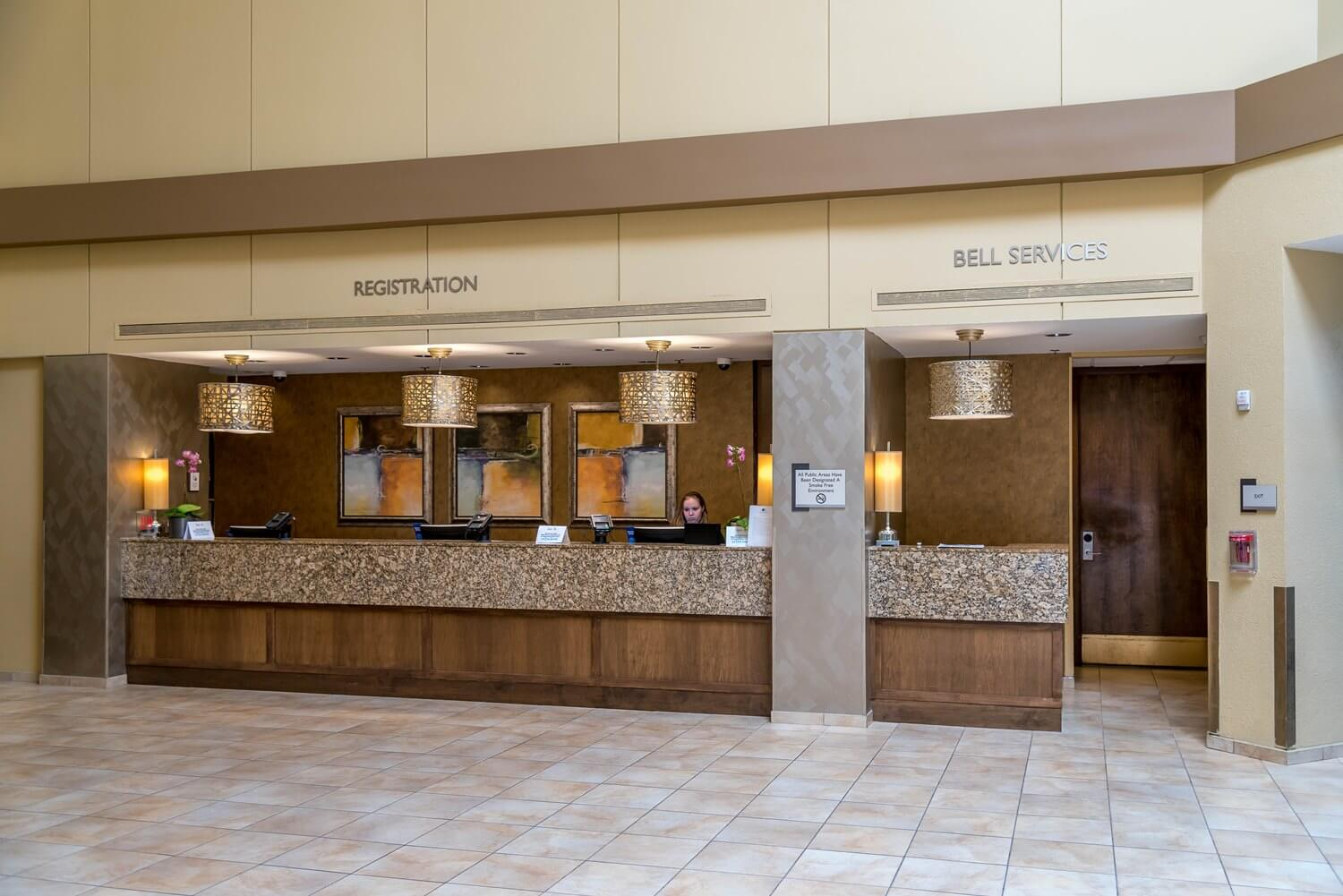 Check In and Bell Services at DoubleTree Suites by Hilton Orlando - Disney Springs Resort Area