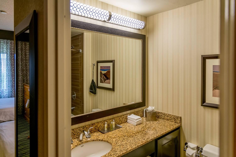 Bathroom at DoubleTree Suites by Hilton Orlando - Disney Springs Resort Area