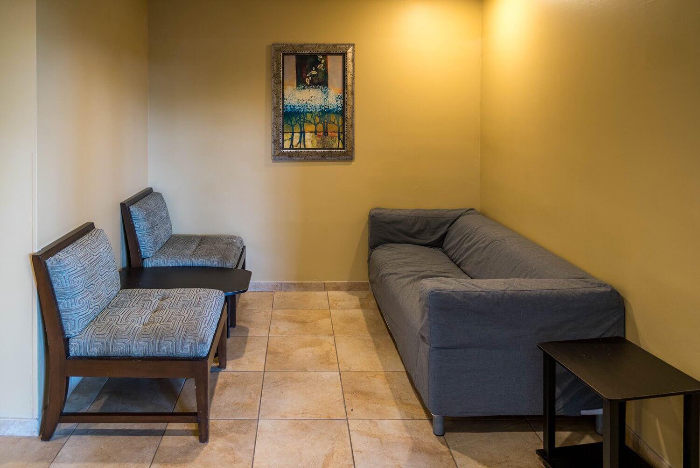 Conversation corner at DoubleTree Suites by Hilton Orlando - Disney Springs Resort Area