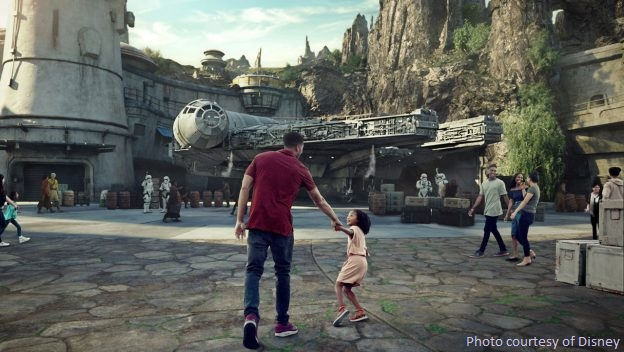 Star Wars: Galaxy's Edge will open on May 31st at Disneyland and August 29th at Disney's Hollywood Studios in Florida