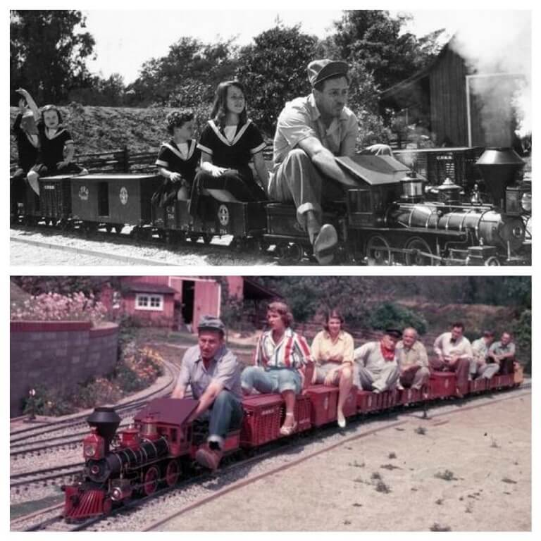 Walt Disney's Carolwood Pacific Railroad and the history of the Rorex tunnel - Dixon On Disney