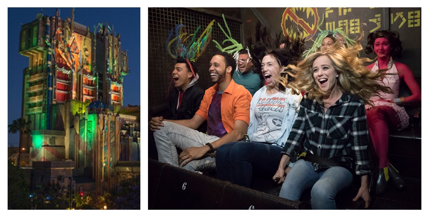 Guardians of the Galaxy - Mission BREAKOUT! at Disney California Adventure / Disneyland resort - Anaheim, California