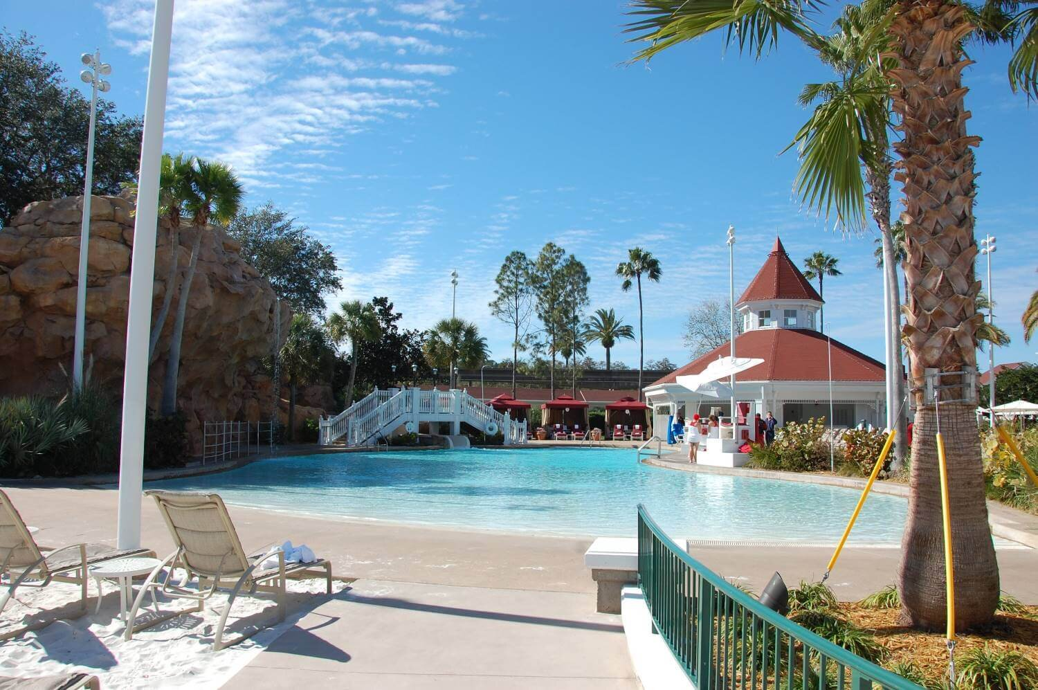 The Beach Pool is a great place to get away and cool off in the Florida heat.