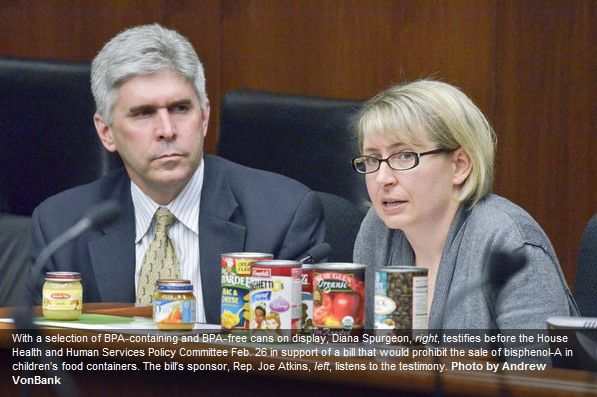 2013: BPA banned in kids' food packaging