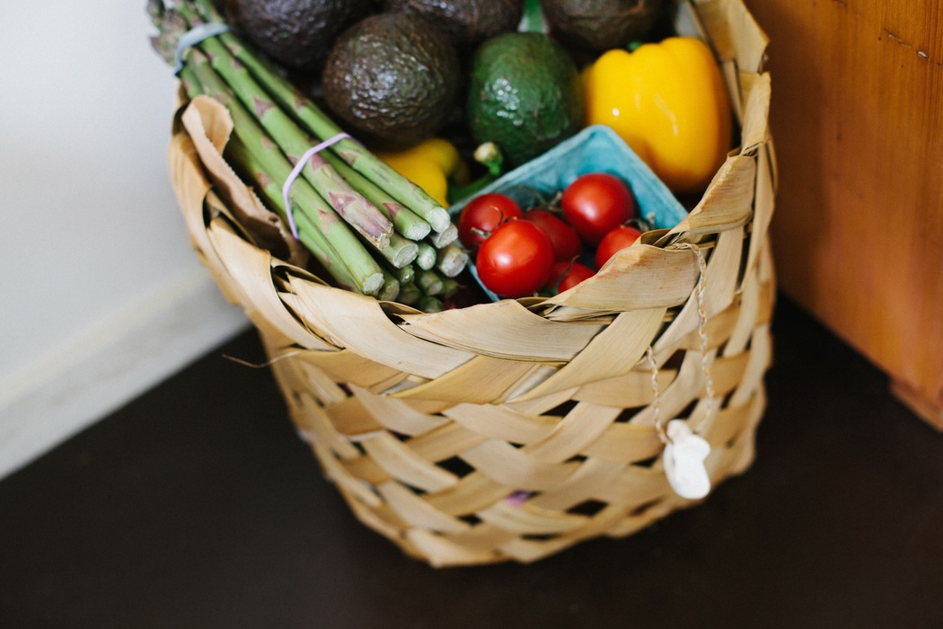 I aim to get at least 2-3 servings of fruits and veggies each per day.