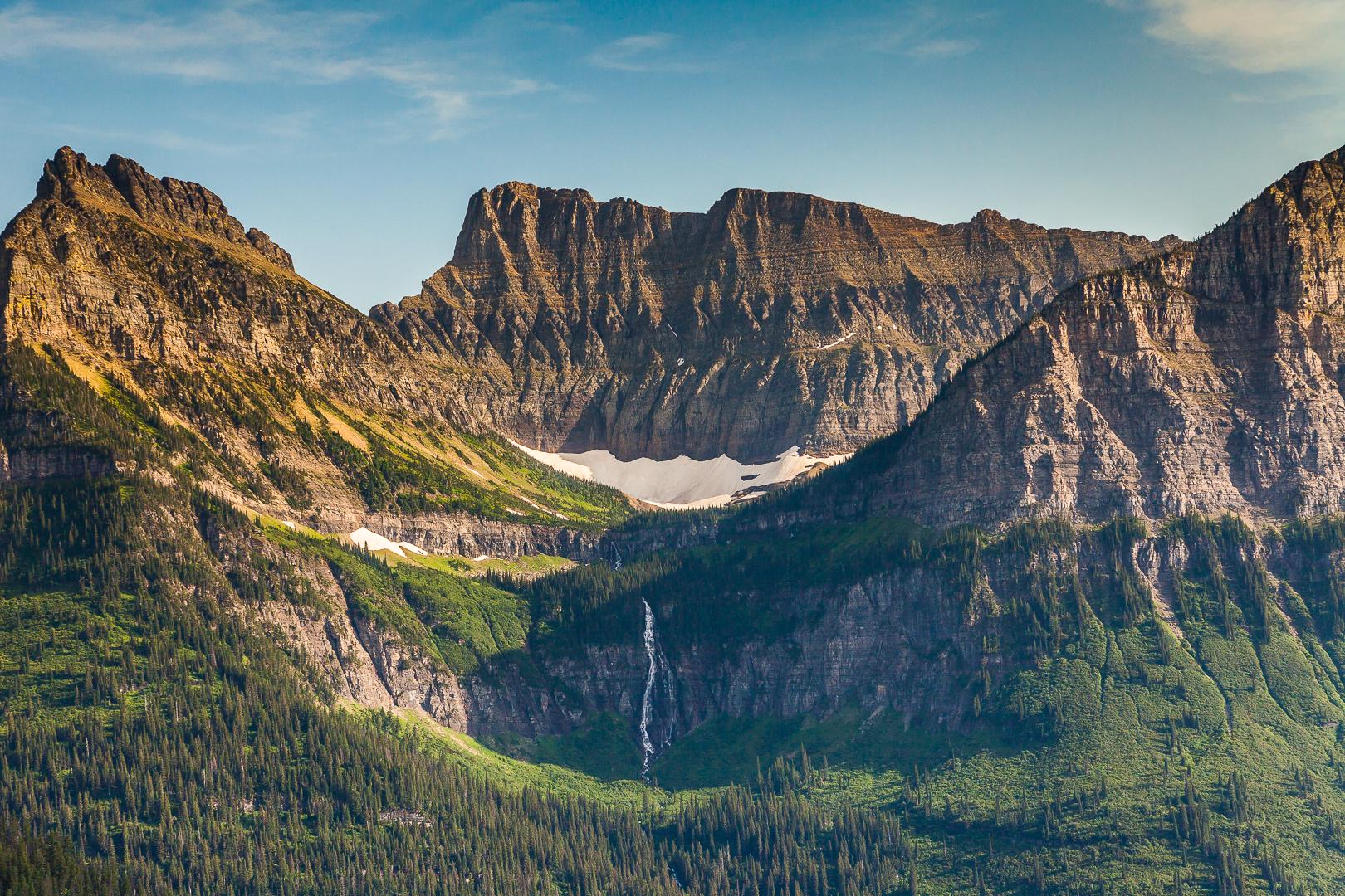 Glacier National Park in Color #1
