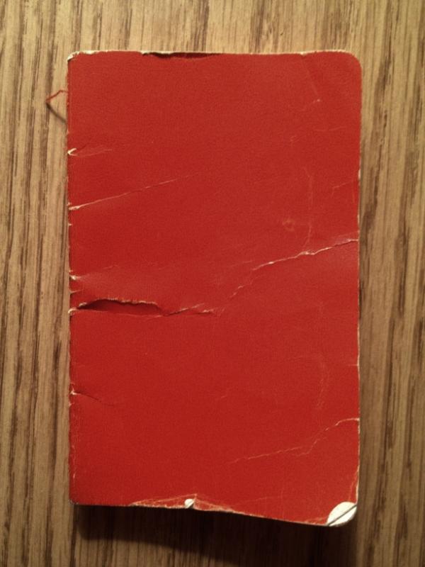 My Back-Pocket Notebook