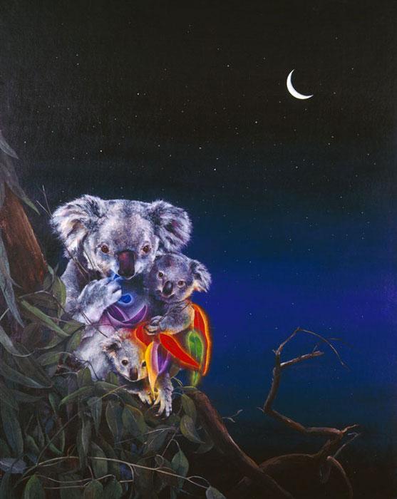 NIGHT LIGHT - original sold