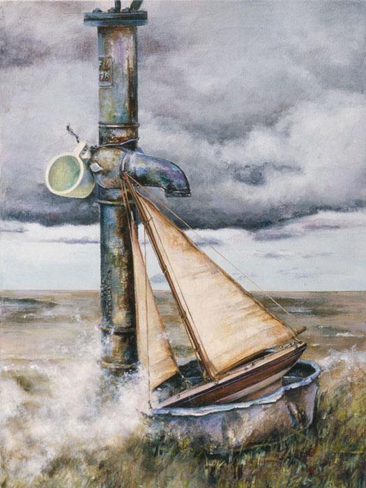 UNCHARTED SEAS - original sold