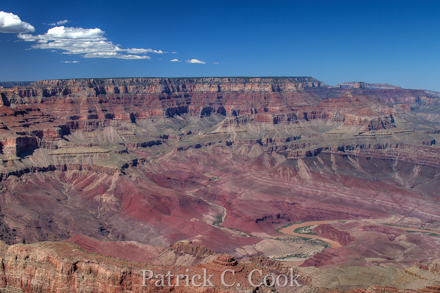 The Grand Canyon at Lipan Point, South Rim.