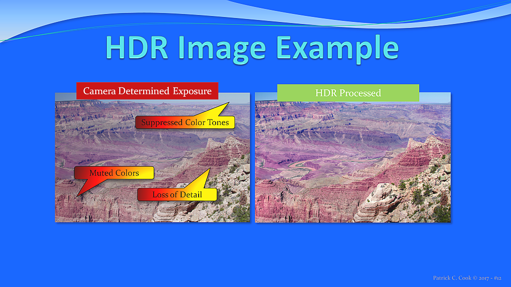From the HDR Masterclass. Click the image to enlarge.