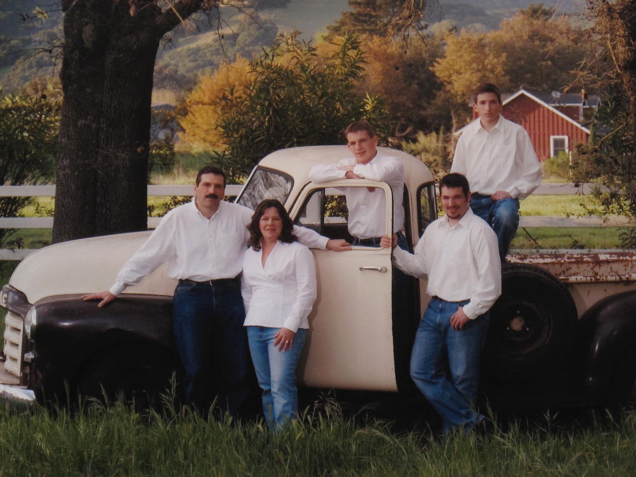 Dr. Fernandez & family