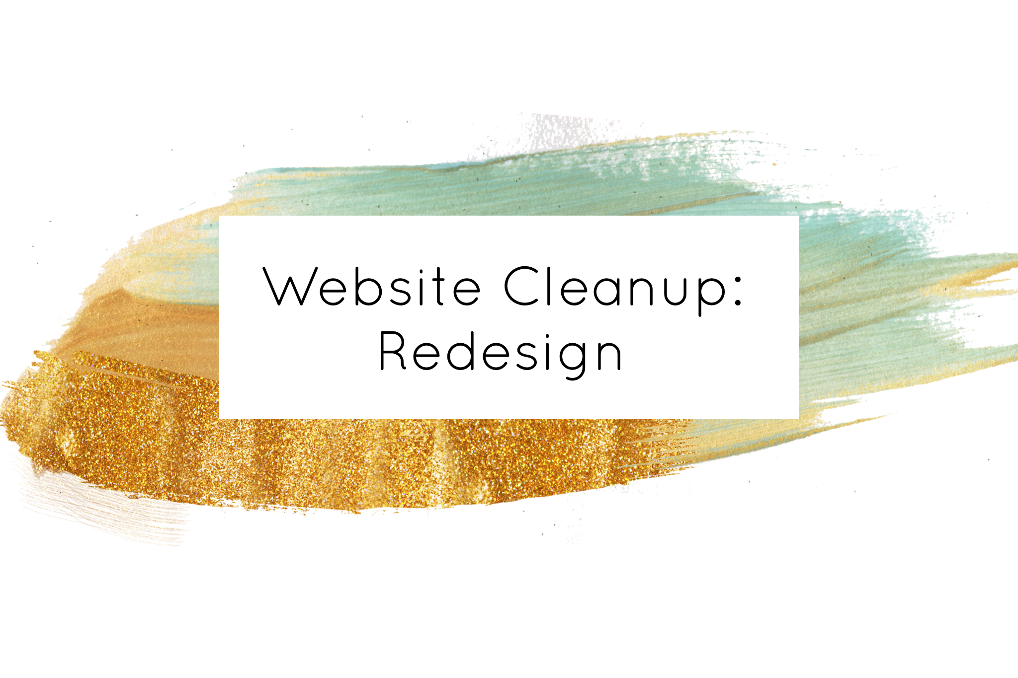 Website Cleanup Redesign