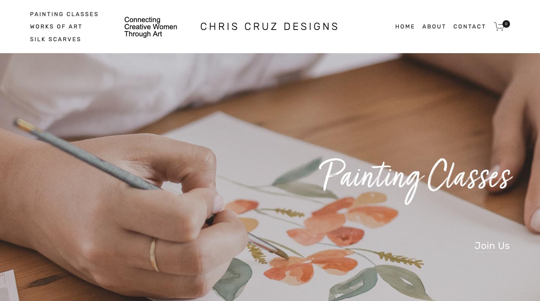 Chris Cruz Designs Website