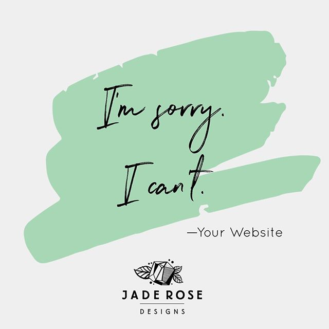 "You guys, your website just broke up with you on a Post-It note. It was that desperate for a change.  It had already given you the ""It's not you, it's me"" deal, but you couldn't let go.  It's time to get some professional help.  From a web design therapist.  Let's work through this together, boo. . . . #newsitewhodis #webdesign #creatives #postitnote #whenburgerbrokeupwithcarrie #letsdothis #artists #websitemakeover"