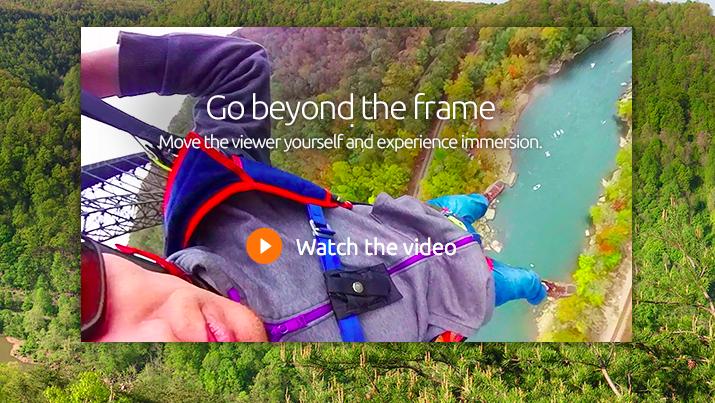 Interactive Video: iBi 1-click 360º camera