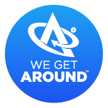 We Get Around - logo